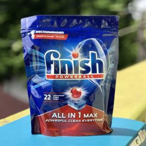 Viên rửa bát Finish All In 1 Max 22 viên